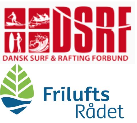 Dansk Surf og Rafting Forbund er nu samarbejdspartner med Friluftsrådet. Foto: DSRF