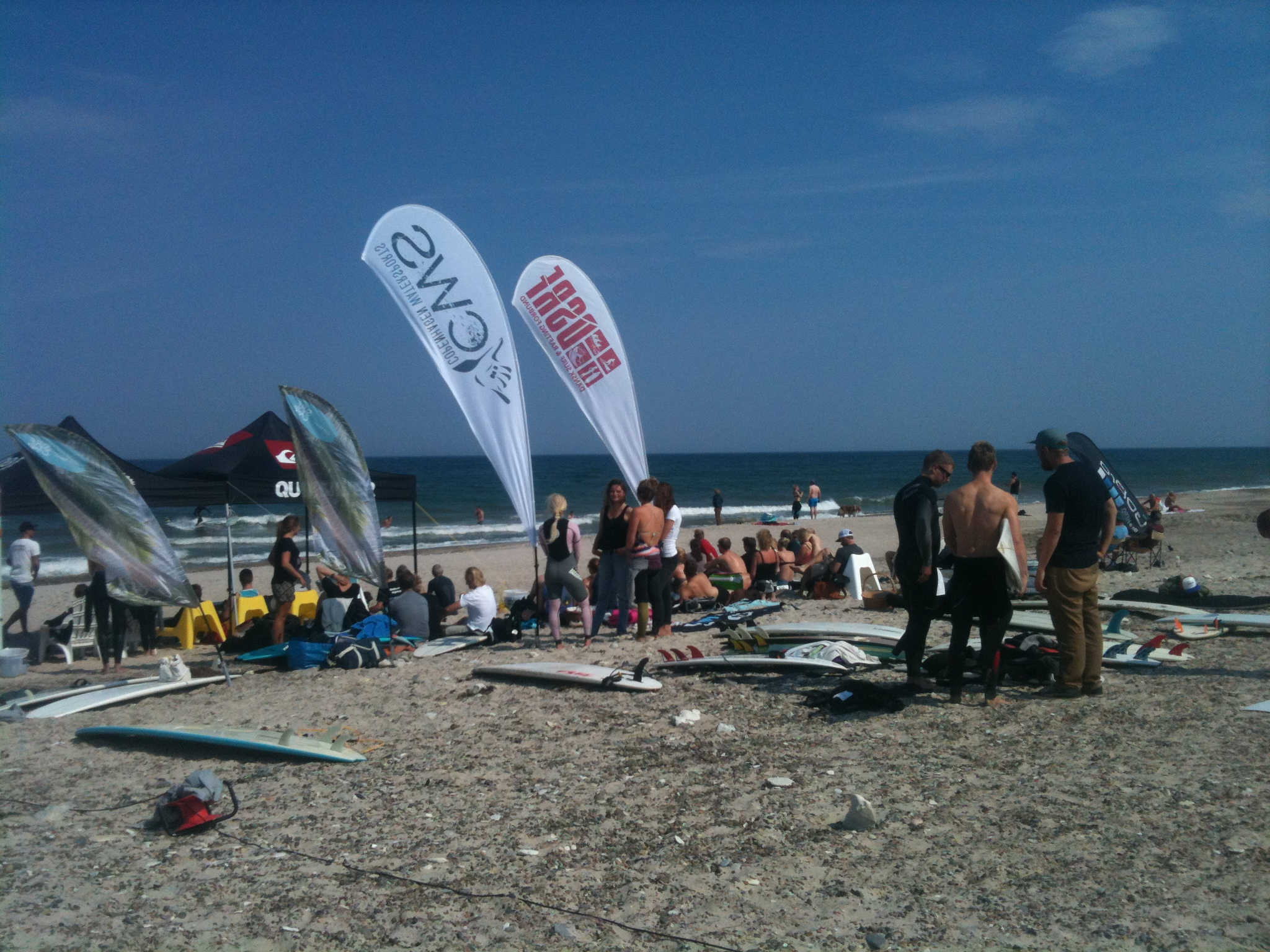Der var tæt på over 20 deltagere i konkurrencen og mange tilskuere. Foto: Nick Sturm